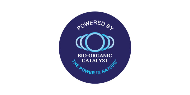 Bio-Organic Catalyst, Powered By Logo