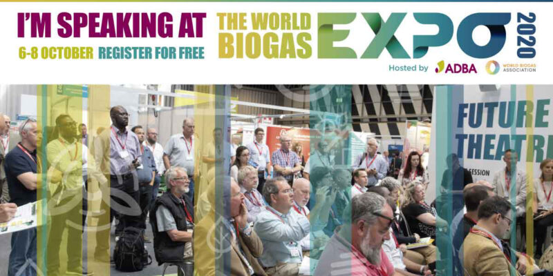 Alps Ecoscience To Present At World Biogas Expo 2020