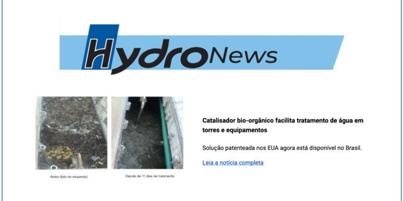Bio-organic Catalyst Facilitates Water Treatment In Towers And Equipment (Brasil)